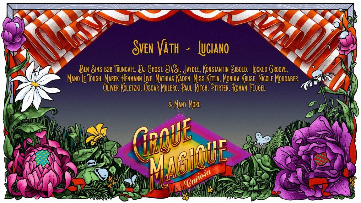 party Cirque Magique 2018
