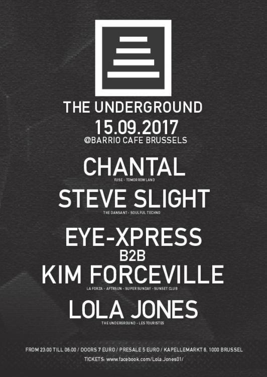 The Underground - 15/09/2017 | Barrio Café