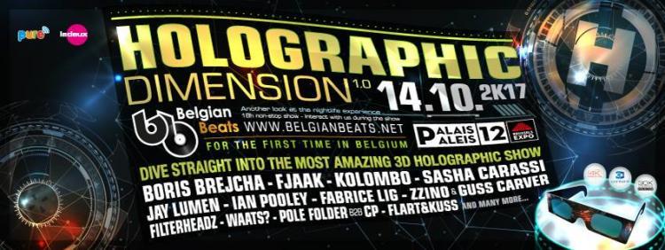 Holographic Dimension 1.0 - 14/10/2017 | Palais 12