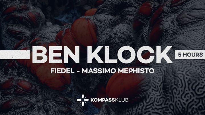 Ben Klock - 5 hour set - 06/10/2017 | Kompass