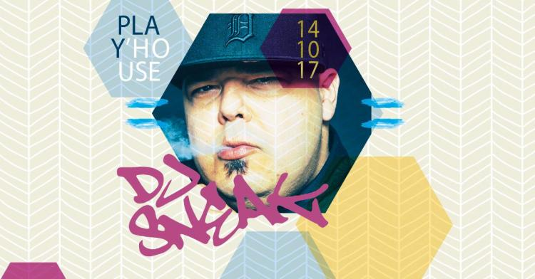 Play'house with DJ Sneak - 14/10/2017 | Speelhof
