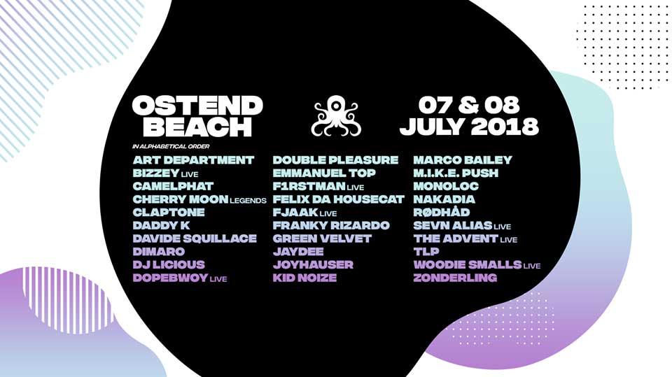 party Ostend Beach 2018