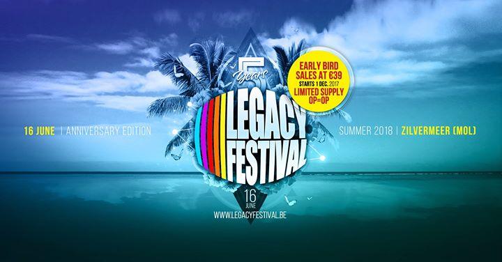 soirée Legacy Festival Belgium 2018