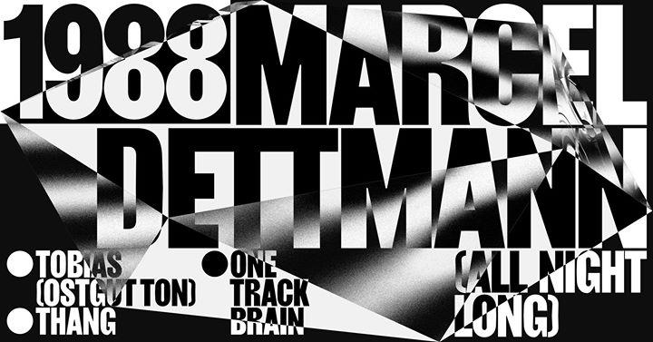 1988 with Marcel Dettmann - all night long - 09/12/2017 | Kompass