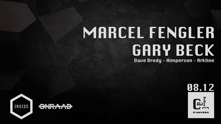 Onraad & Inside - Marcel Fengler & Gary Beck - 08/12/2017 | Café d'Anvers