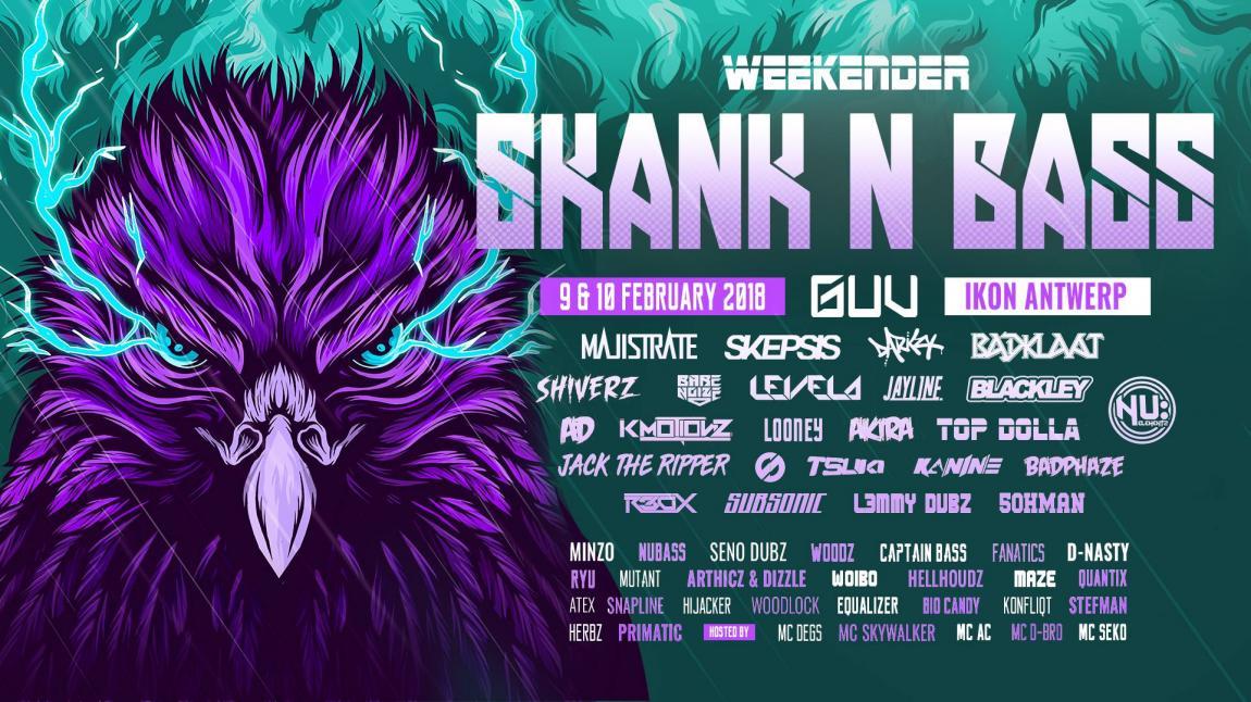 party Skank n' Bass - Weekender 2018