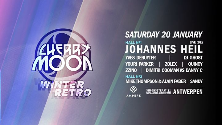 party Cherry Moon Winter Retro with Johannes Heil live