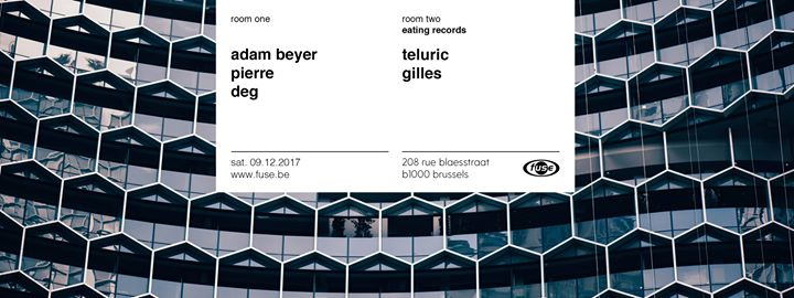 Fuse presents: Adam Beyer - 09/12/2017 | Fuse