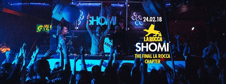 party 11 years of SHOMI - The last La Rocca chapter