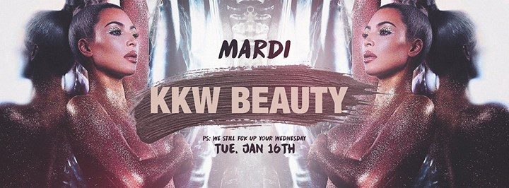 soirée Mardi Kardashian x KKW Beauty