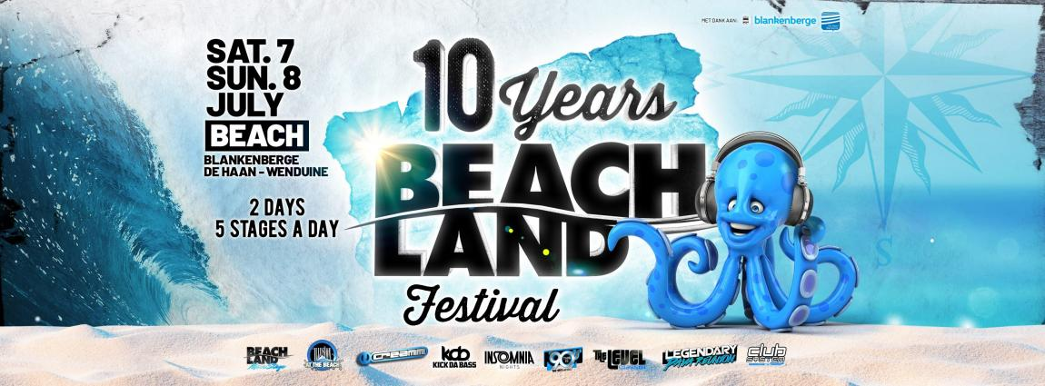 party Beachland Festival 2018 10th Anniversary