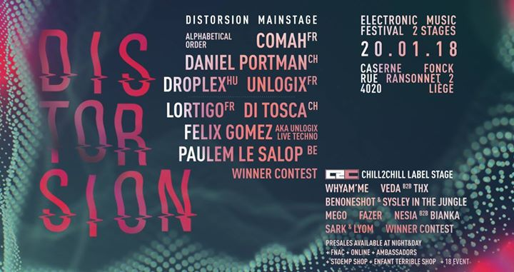party Distorsion Electronic Music Festival - 2 stages