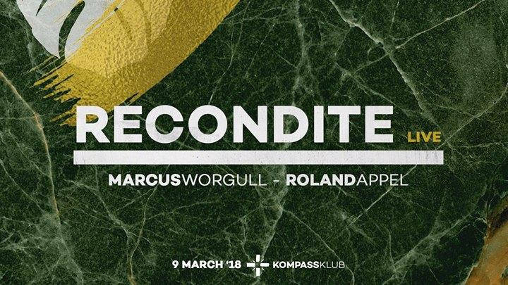 soirée Recondite live