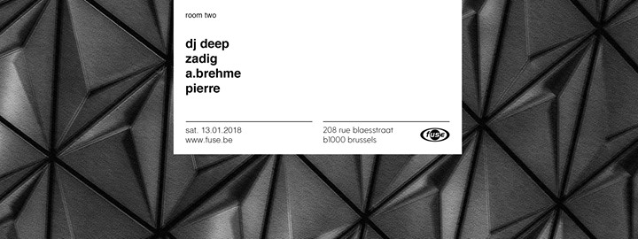 party Fuse presents: Deeply Rooted with Dj Deep, Zadig