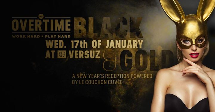 soirée Overtime Black&Gold