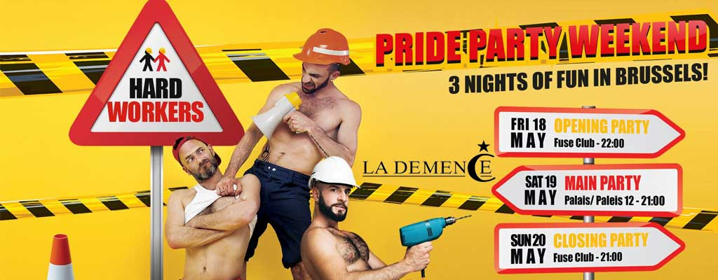 party La Demence - Pride Party Weekend - Main Party