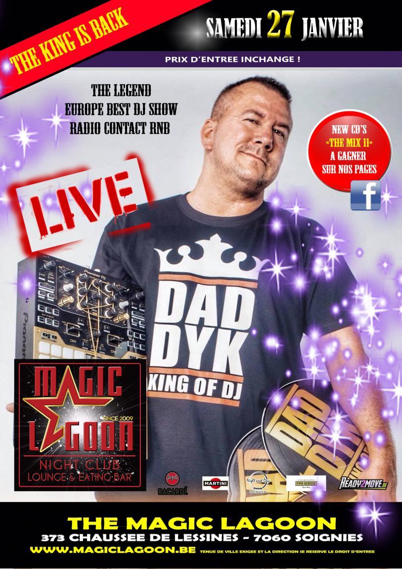 Live Daddy K - King of DJ - 27/01/2018 | The Magic Lagoon