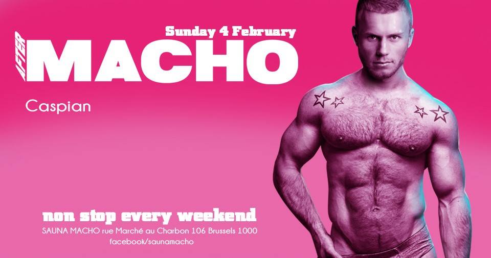 party AFTER MACHO