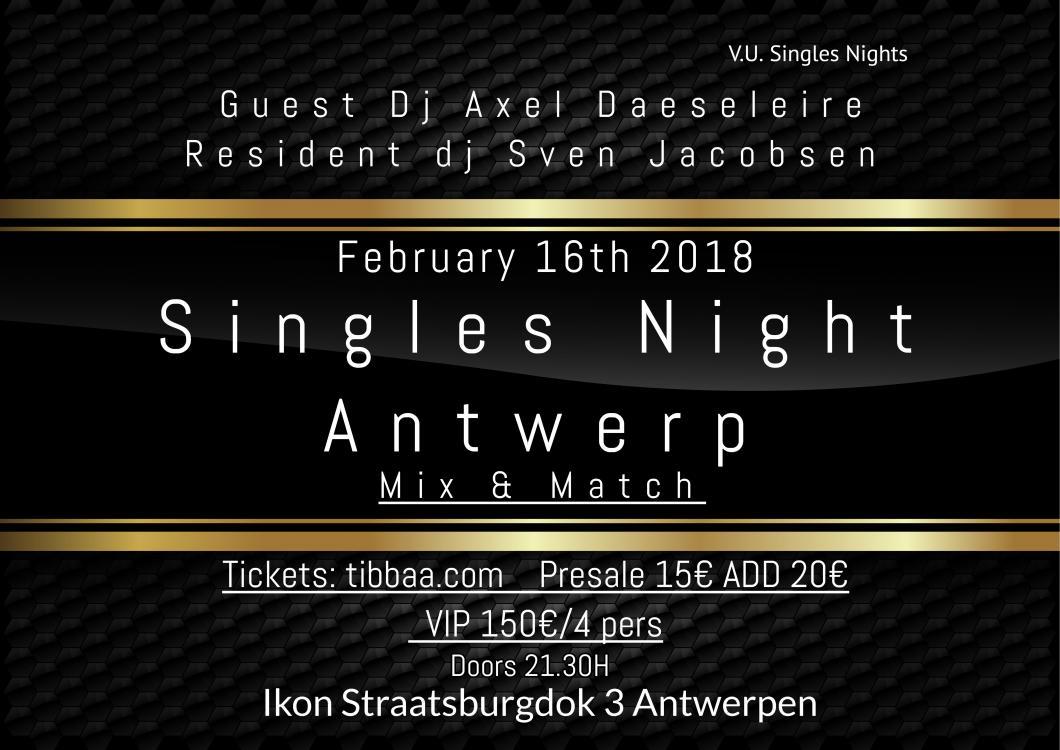 soirée Singles Night Antwerp