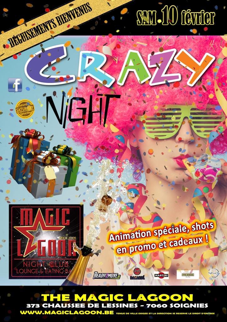 Crazy Night - 10/02/2018 | The Magic Lagoon