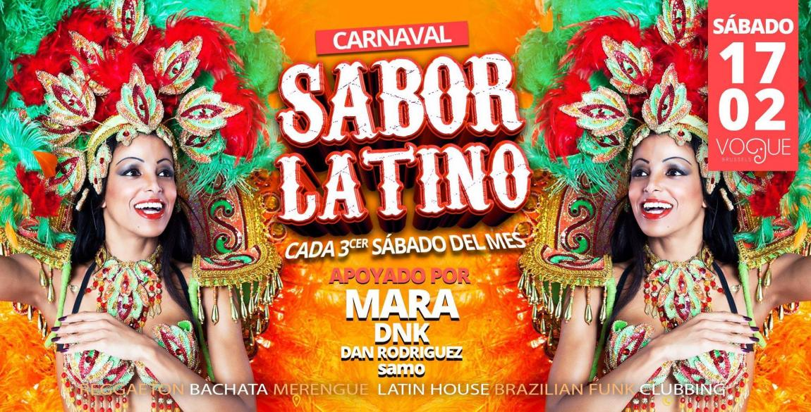 soirée Sabor Latino - Edition Carnaval