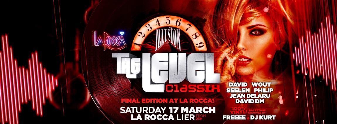 party Level Classix Last Edition at La Rocca