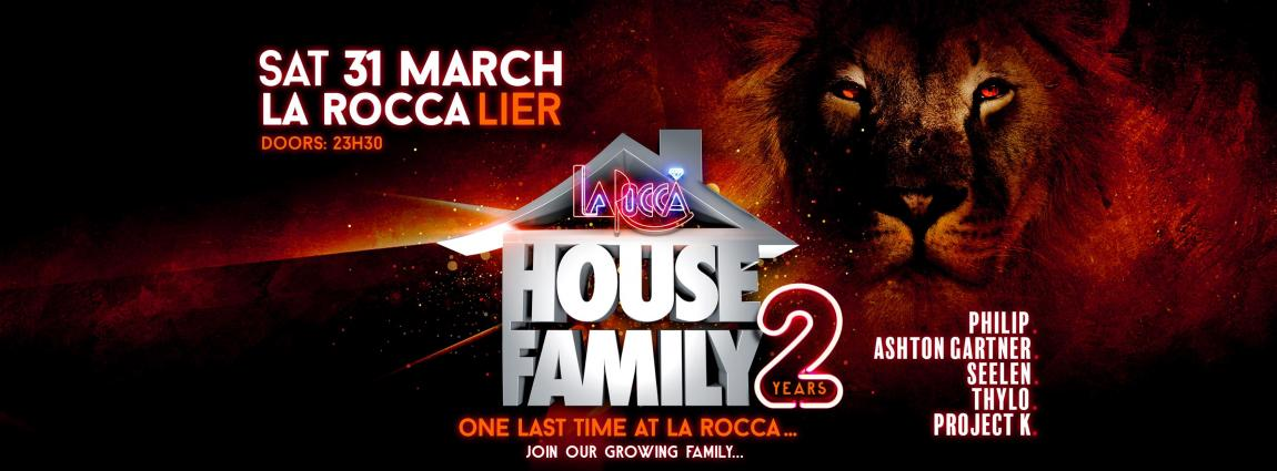 party House Family one last time at La Rocca