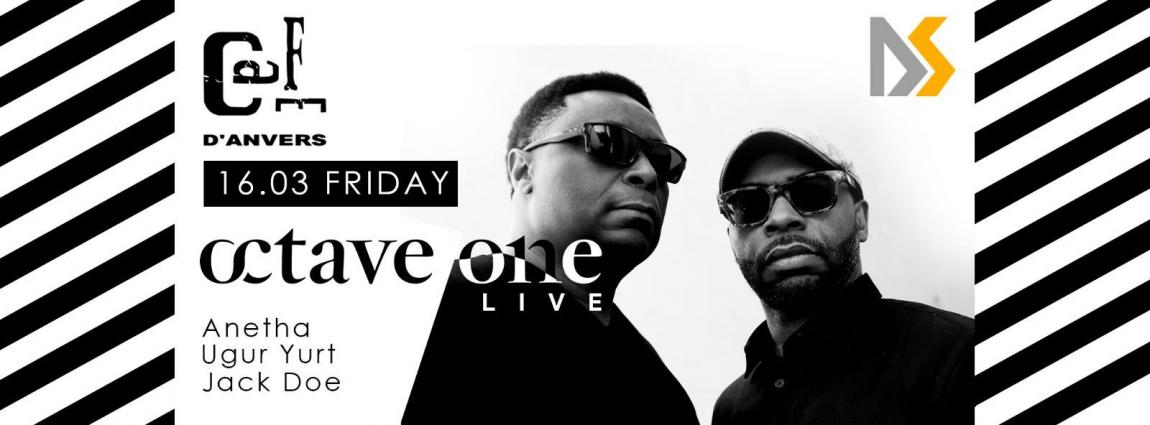 soirée Octave One LIVE / Anetha / Ugur Yurt by D&S