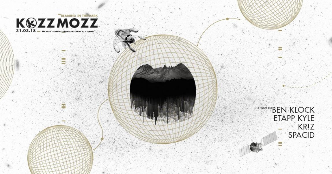 party Kozzmozz: Beaming in the dark with Ben Klock!