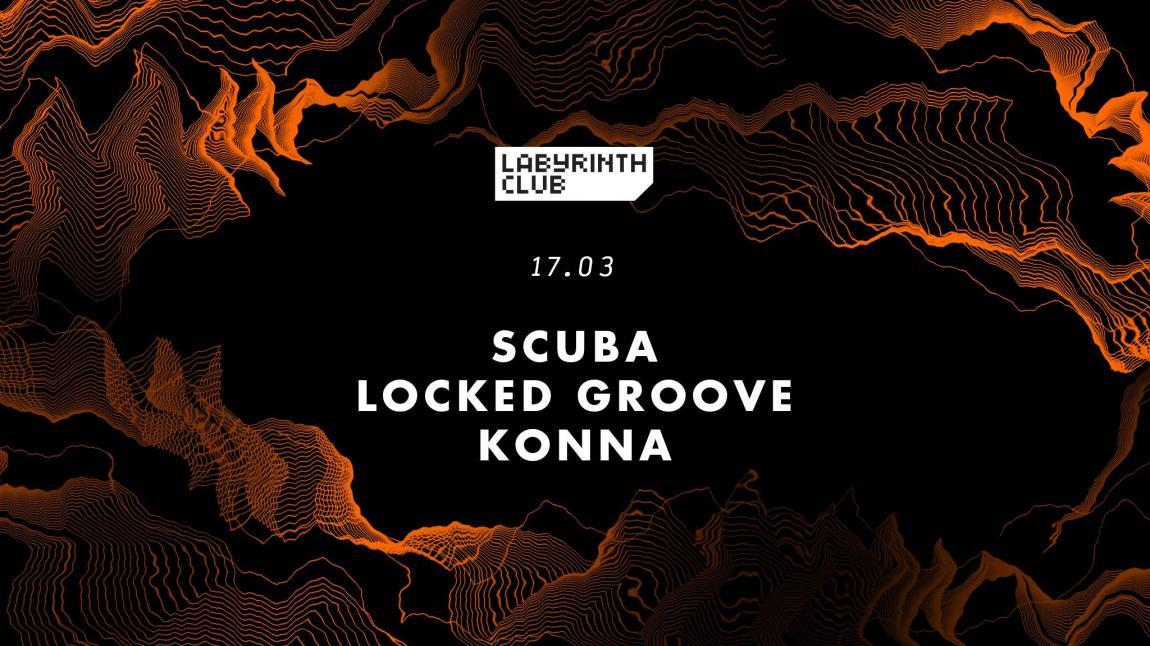 soirée Scuba, Locked Groove and Konna