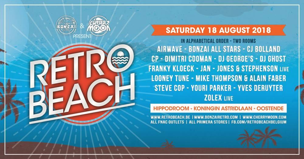 soirée Retro Beach 2018