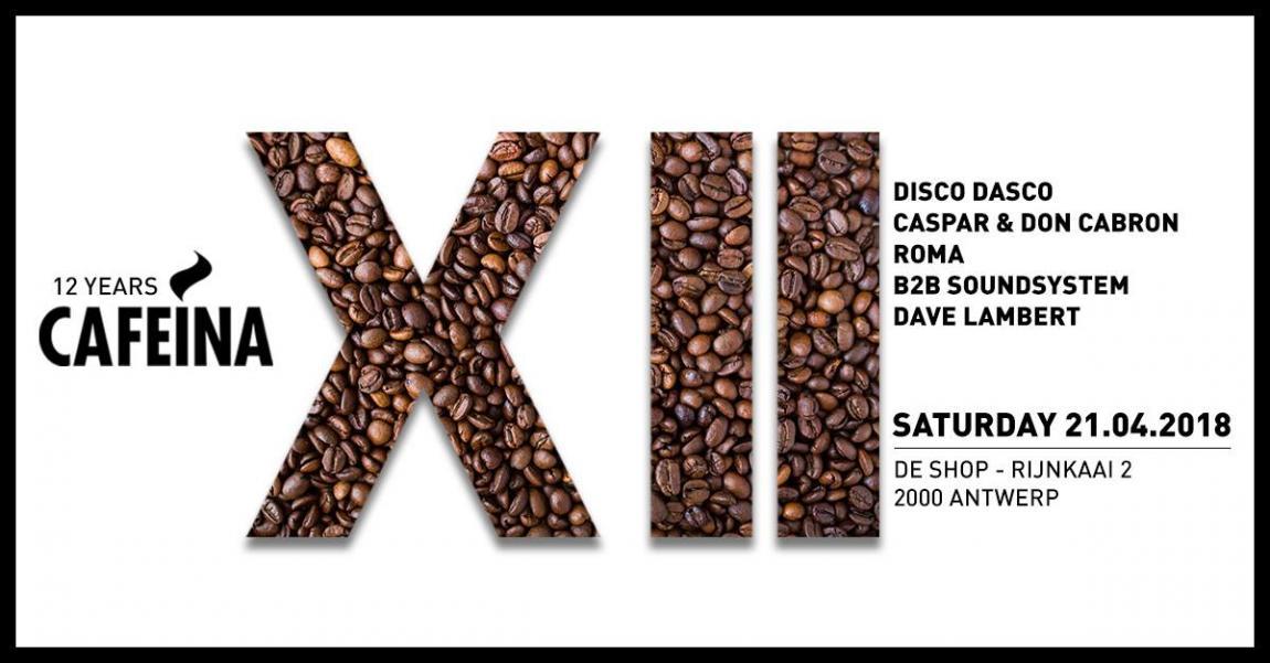 party 12 Years Cafeína