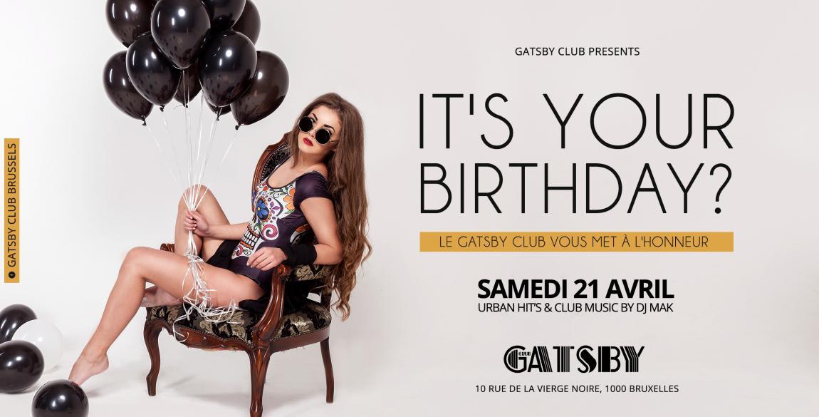 party Gatsby Club - It's your birthday