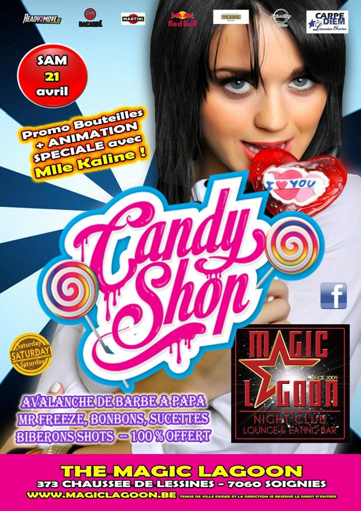 Candy Shop Party - 21/04/2018 | The Magic Lagoon
