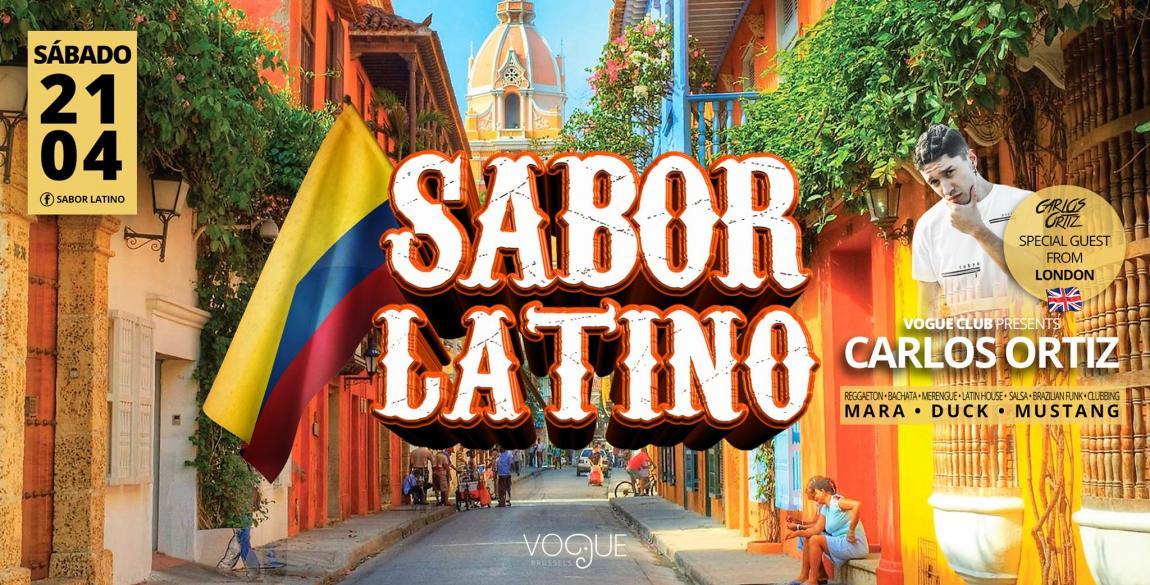 soirée Sabor Latino invite Carloz Ortiz