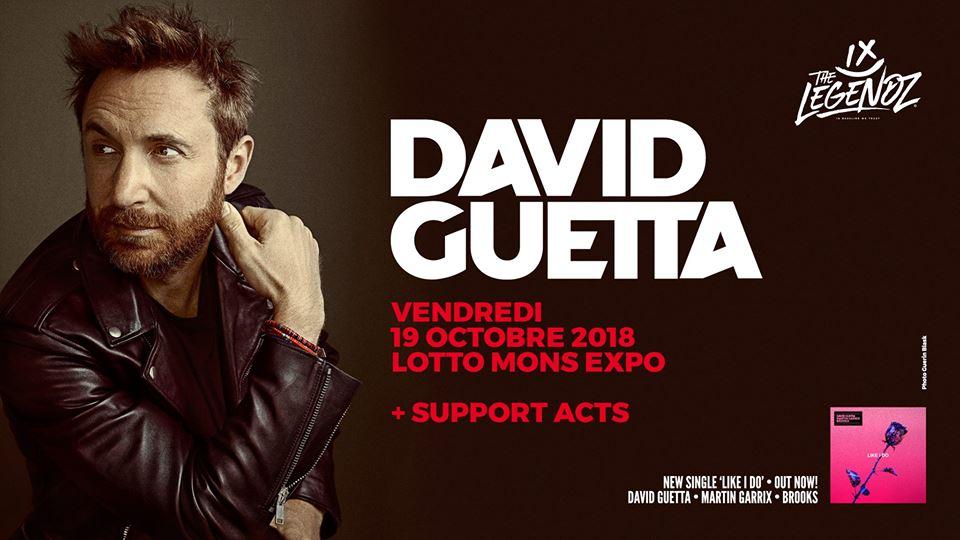 party Legendz Indoor presents David Guetta !