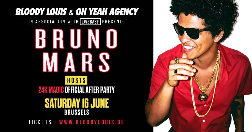 party BRUNO MARS AFTERPARTY