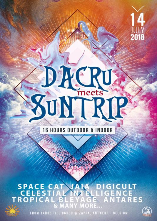 party Dacru meets Suntrip ~ 16 hours outdoor & indoor