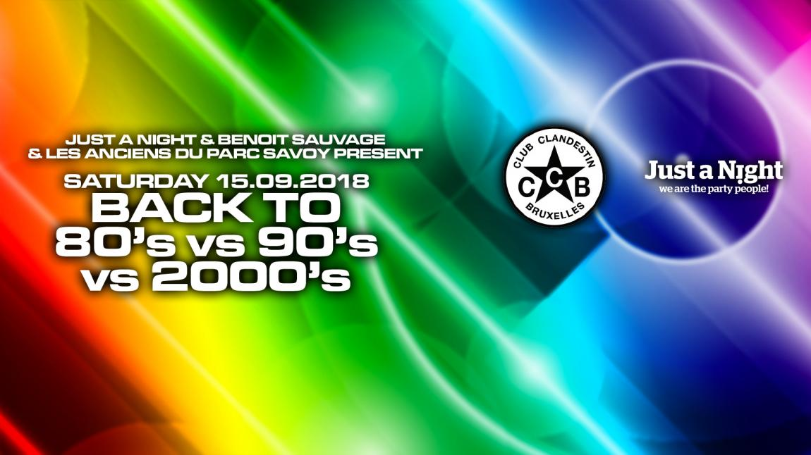 party Cult & Kitch Party - Back to 80's vs 90's vs 2000's