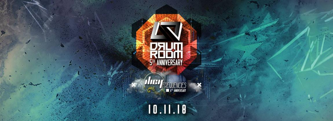 party DRUM ROOM 5 YEARS ANNIVERSARY (W/ High Frequencies)