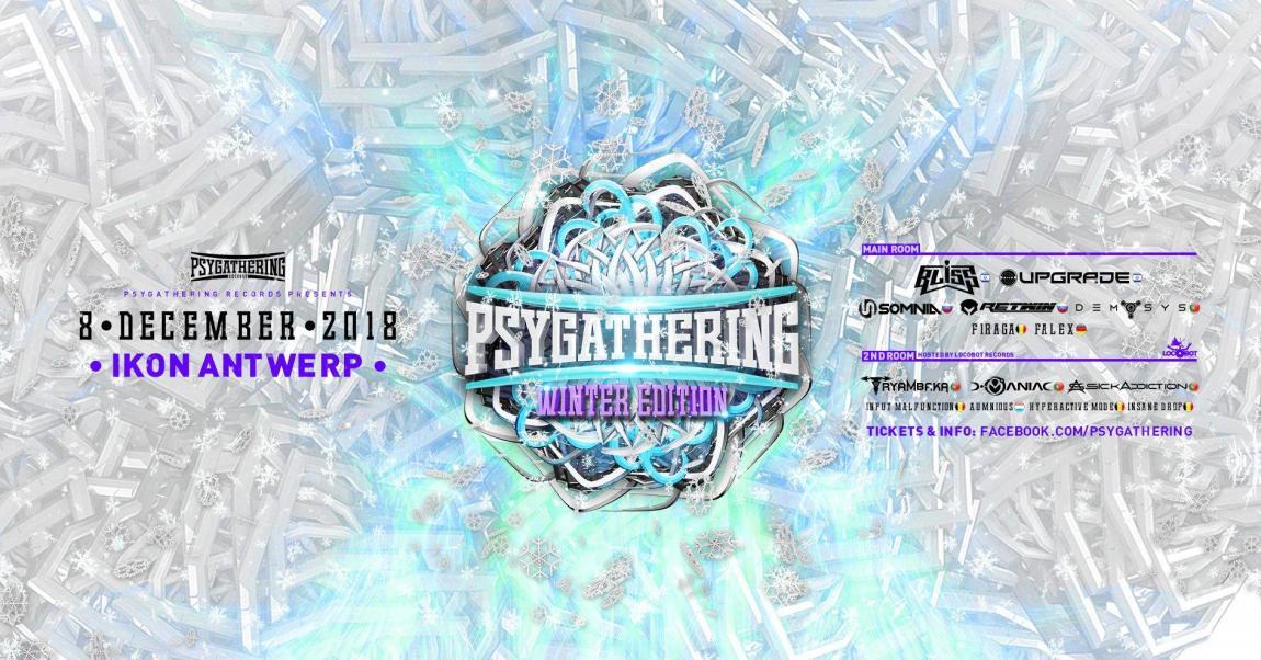soirée Psygathering Winter Edition 2 rooms