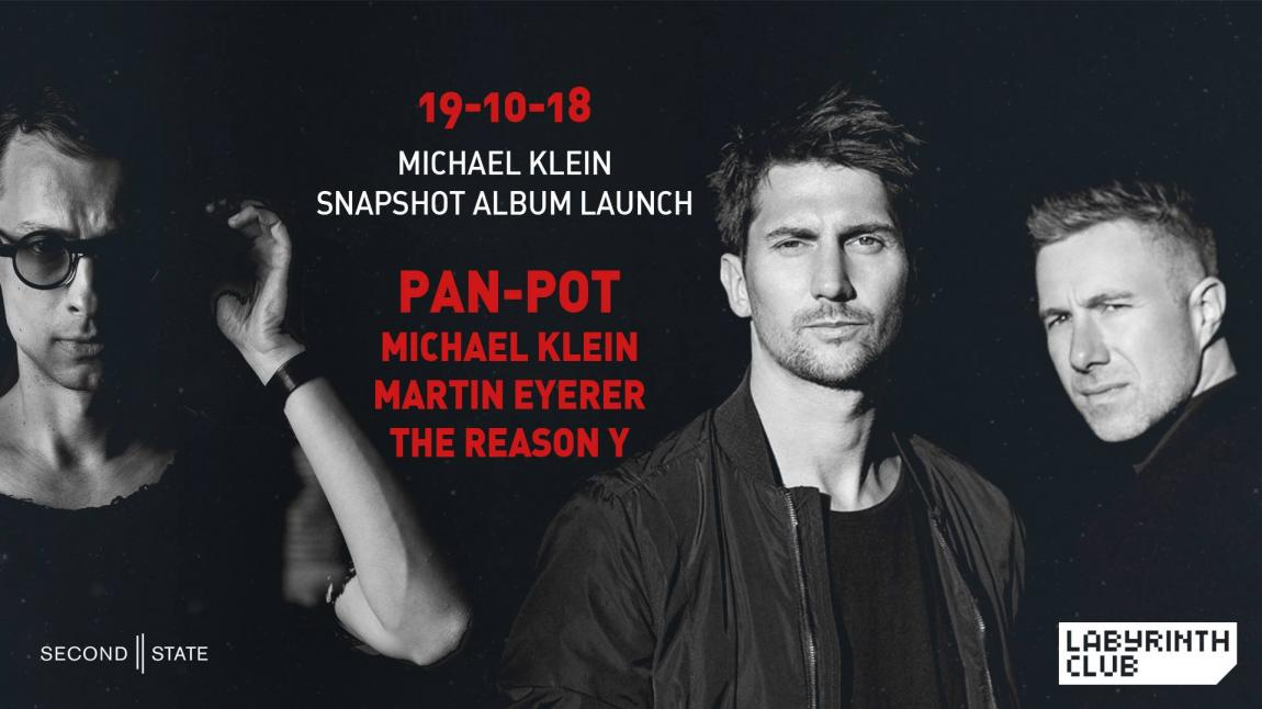 party Pan-Pot, Michael Klein, Martin Eyerer and The Reason Y