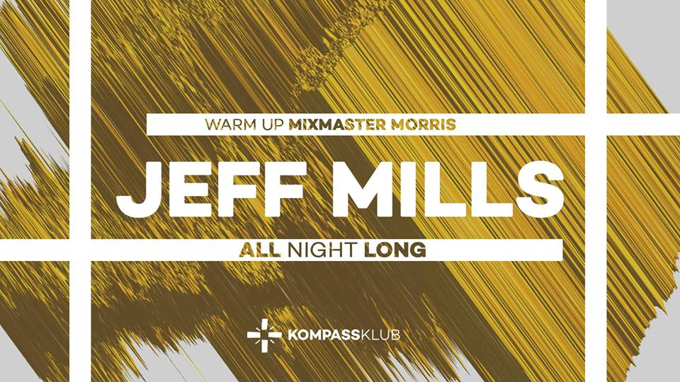 party Jeff Mills - all night long