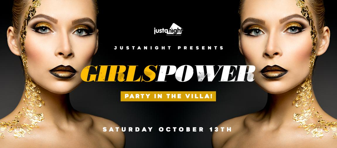 soirée GIRLS POWER - PARTY IN the VILLA | The best Ladies Night In Town