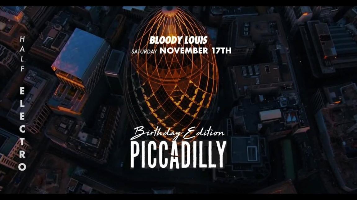 soirée Piccadilly - Birthday Edition