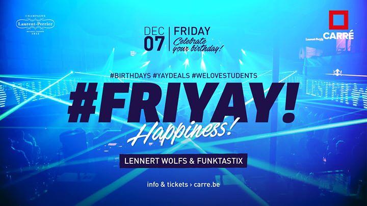 soirée Friyay ⬝ Lennert Wolfs & Funktastix