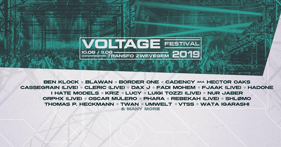 soirée Voltage Festival 2019