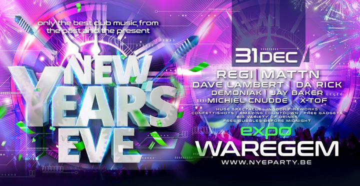 Dance D-Vision : New Year's Eve - Expo Waregem - Monday 31/12/2018