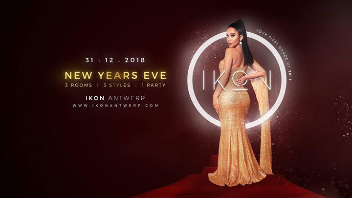 soirée IKON Antwerp NYE 2018 - 2019