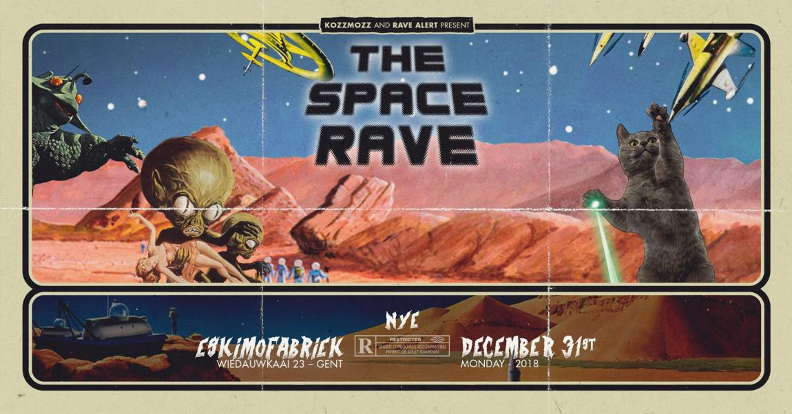 party Kozzmozz & Rave Alert present: The Space Rave